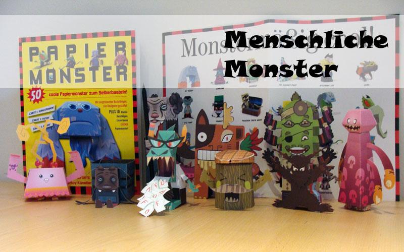 Castleforte - Papiermonster - Menschliche Monster