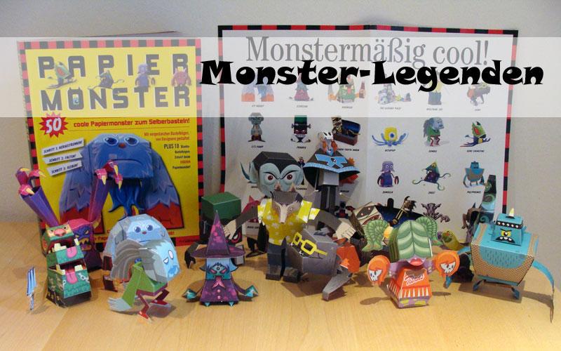 Castleforte - Papiermonster - Monster-Legenden