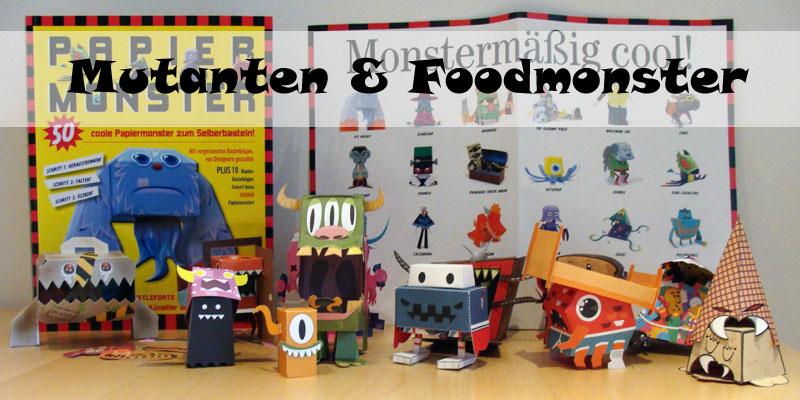 Castleforte - Papiermonster - Mutanten und Foodmonster