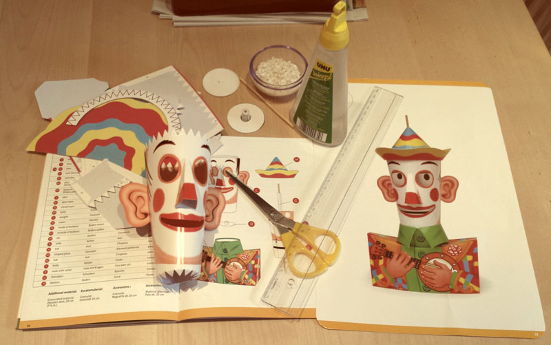 Paper Toys- Work in progress