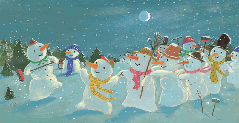Innenansicht - Ben der Schneemann