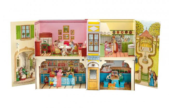 Esslinger Verlag - Das Biedermeier-Spielzeughaus