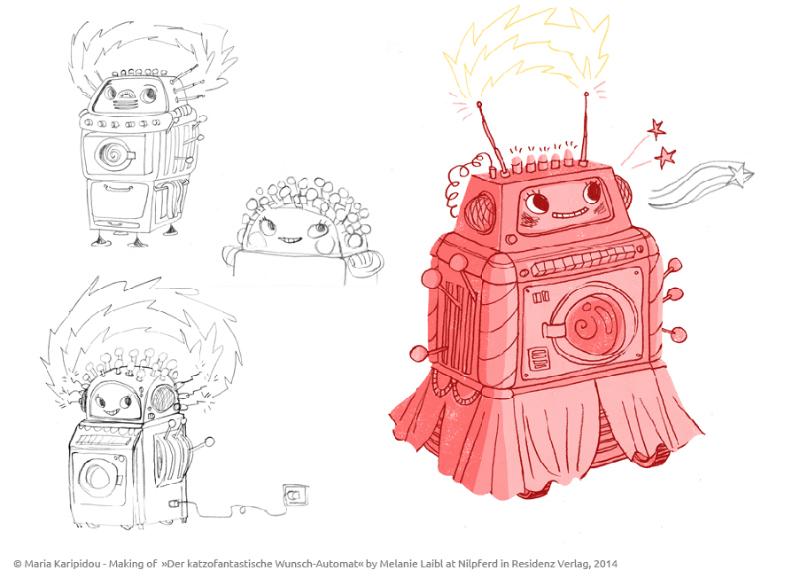 Making-Of zum katzofantastischen Wunschautomaten