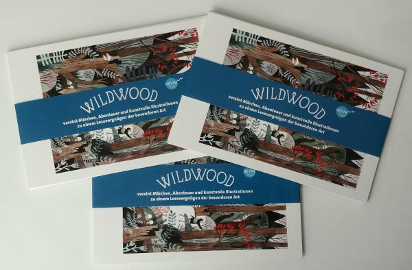 Wildwood-Postkartenset