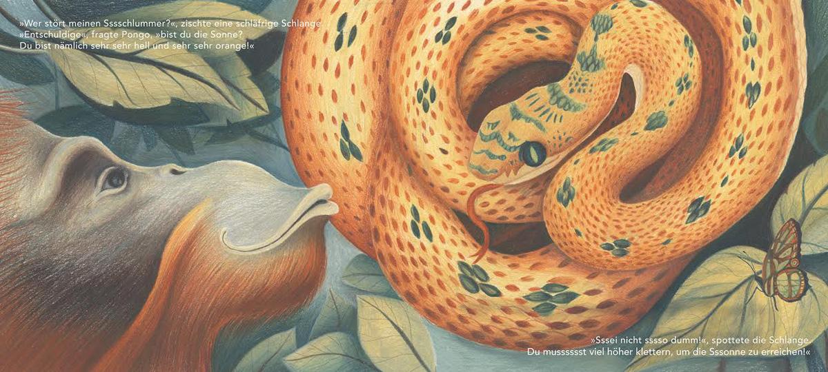 Pongo und die Schlange